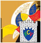 NCV Wappen mit Narrenkappe